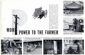 power from the people rural electrification brought more than
