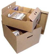 dvd storage box corrugated cardboard