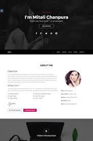 jaguarcv responsive resume cv website template 65536