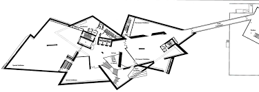 Hexagon House Plans by Denver Art Museum Second Floor Plan Studio Daniel Libeskind