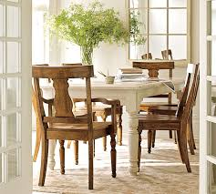 pottery barn sumner table this table and this chair matching stain