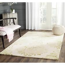 decorating amazing colorful safavieh rugs with unique ottoman and