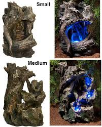 Zoo Med Lighting by Zoo Med Repti Rapids Waterfall Led Lights Wood Reptile Viv