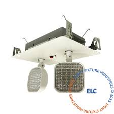 Ceiling Mounted Emergency Lights Emergency Lights Recessed Exit Light Co
