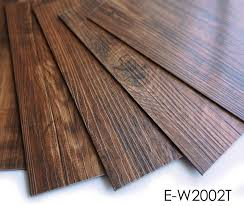 wear resistance water proof self adhesive vinyl plank pvc plank