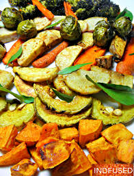 Roasted Vegetable Recipes by Roasted Vegetables With Garam Masala U2013 Indian And Indian Fusion