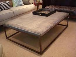 the brick coffee tables belgium brickmakers obezon top coffee table on iron rectangular base