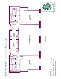 floor plans for beechwood senior apartments 1 and 2 bedroom