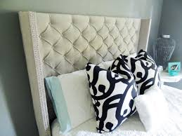 Diy Fabric Tufted Headboard by How To Make A Tufted Headboard 63 Awesome Exterior With Diy