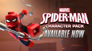 spider man character pack lego marvel u0027s avengers