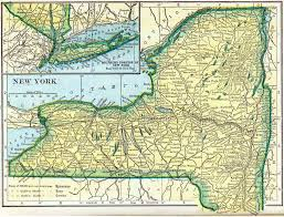 New York State Map by New York Genealogy U2013 Access Genealogy