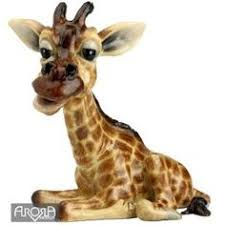 giraffe and baby statue sculpture figurine available at