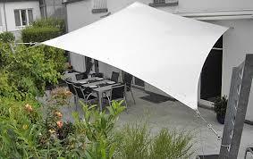 balkon regenschutz sonnensegel für terrasse und balkon schöner wohnen