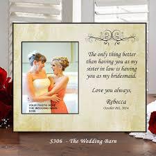 wedding gift photo frame wedding gift of honor gift matron of honor gift