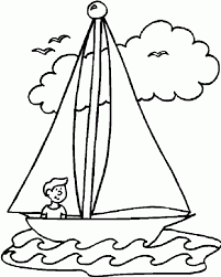 boat coloring pages page sheet holidays for adults free preschool