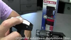 First Alert Kitchen Fire Extinguisher by First Alert Auto Fire Extinguisher Ul Rated Video Overview Youtube