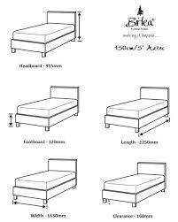 Bed Frame Sizes Aztec Bed Frame