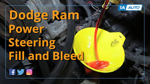 2006 Dodge 3500 Truck Parts - how to fill and bleed power steering system 2008 dodge ram buy