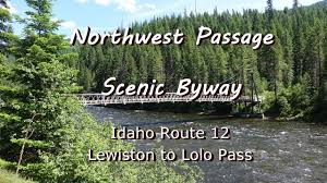 Scenic Byway by Driving The Northwest Passage Scenic Byway Idaho Youtube