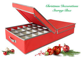 christmas tree storage box nobby christmas decorations storage box best bauble balsam hill