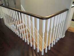 Painted Stairs Design Ideas Download Wood Stair Railing Ideas Homecrack Com
