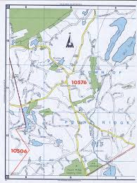 Map Of United States And Canada by Town Of Pound Ridge Map