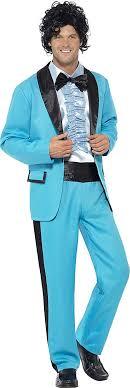 80s prom men smiffy s men s 80 s prom king costume clothing