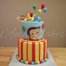 curious george birthday cake angie cakes curious