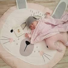 tapis ourson chambre b mignon rer couverture tapis de sol bébé nouveau né infantile