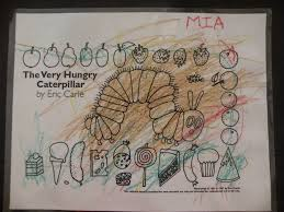 the very hungry caterpillar the files of mrs e