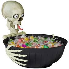 amazon com animated halloween candy bowl with comical speaking