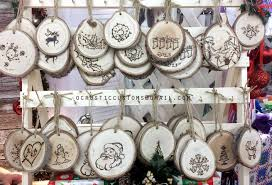 wood crafts for christmas wood burned christmas ornaments from
