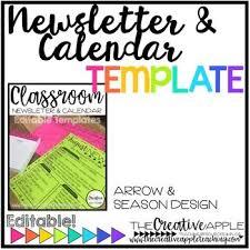 the 25 best newsletter format ideas on pinterest classroom
