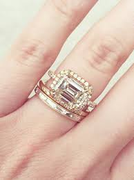 best wedding bands 20 real with gorgeous wedding band and engagement ring combos