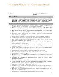 Qa Automation Engineer Resume Test Engineer Sle Resume 28 Images Avionics Engineering Resume