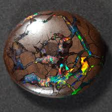types of opal boulder opal pale blue dot