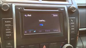 2012 toyota camry xle entune radio problem update may 2013 youtube