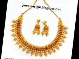 beautiful antique light weight gold jewellery
