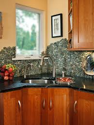 wonderful river rock tile backsplash 150 river rock tile kitchen