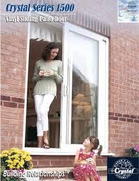 Patio Doors With Side Windows Top Nj Crystal Window Patio Door Installation M U0026m Construction