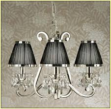 Black Chandelier With Shades Chandelier With Shades Uk Home Design Ideas