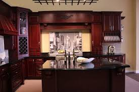 kitchen color schemes with cherry cabinets what color granite goes with cherry cabinets cherry wood cabinets