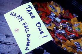 self serve halloween candy for trick or treaters yes or no