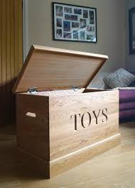 How To Build A Wood Toy Chest by The Ultimate Christmas Gift A Children U0027s Personalised Toy Chest