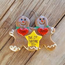 engagement wedding ornaments tis the season christmas ornaments