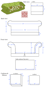 Back Of Couch Clipart How To Design And Sew A Slipcover Part 1 U2013 Diy Home Decor
