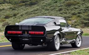 1976 shelby mustang eleanor en negro así o matón carros de ensueño