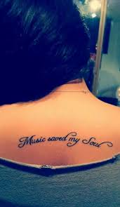 genius music tattoos that you u0027ll want to get for yourself