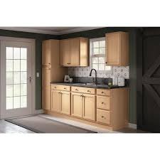 lowes 60 inch kitchen sink base cabinet project source 24 in w x 35 in h x 23 75 in d unfinished door and drawer base stock cabinet