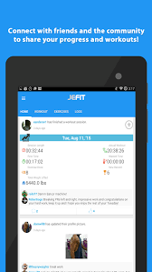 fitness tracker app for android jefit workout tracker log apk thing android apps free